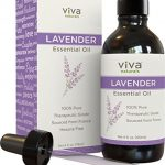 Viva Naturals French Lavender Essential Oil, 4 fl oz – 100{0ad59209ba3ce7f48e71d4a0dc628eee9b107ea7079661ded2b3bda89b047a8b} Pure & Therapeutic Grade for Relaxation, Sleep & Happy Mood