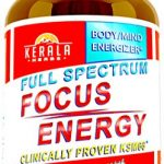 Kerala Herbs FOCUS ENERGY for Added Attention Boost Mood Increase Brain Memory Mental Cognitive Enhancer Anti Stress Anxiety Depression Panic Ashwagandha Ginkgo Ginseng Nerve Tonic Super Food
