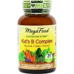 MegaFood – Kid's B Complex, Supports the Health of the Nervous System, 30 Tablets (FFP)