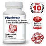 2 Bottles Deal – Phenternin Top Weight Loss Diet Pills Appetite Suppressant that Works Fast Lose Weight DietPills Supplement USA for Women & Men