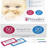 Ovulation Test Strips and Pregnancy Test Kit – 50 LH and 20 HCG – OPK Ovulation Predictor Kit iProven FK-127