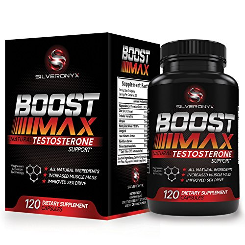 Testosterone Booster for Men - Increase Strength, Stamina & Muscle Growth - Boost Max Testosterone Supplements, Best Natural Sex Boosters & Male Enhancement Pills - 90 Capsules