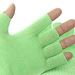 Best Gel Cotton Moisturizing Gloves Touch Screen – Eczema Relief – Heals Dry Skin and Cracked Hands Fast – Anti Aging Hand Treatment – Gel Lining Infused with Essential Oils and Vitamins