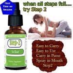 Step-2 Women's Sex Spray for all ages of Women-Female Libido Enhancer, Sexual Enhancement, Passion, Orgasm, Pleasure Enhancing Libido Improve Energy, Stamina & Sex Drive, Heavenly sexual pleasure!!!