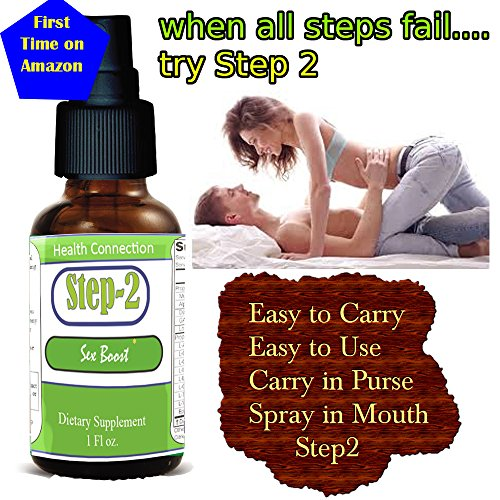 Step-2 Women's Sex Spray for all ages of Women-Female Libido Enhancer, Sexual Enhancement, Passion, Orgasm, Pleasure Enhancing Libido Improve Energy, Stamina & Sex Drive, Heavenly sexual pleasure!!!