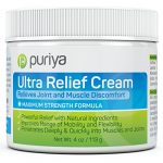 Powerful Pain Relief Cream for Arthritis. Proven Joint Back Knee Neck Shoulder Pain Reliever. Effective for Carpal Tunnel, Tennis Elbow, Tendonitis, Muscle Chronic Pain. Patented Natural Ingredients