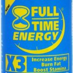 Full-Time Energy X3 – 30 Capsules – Increase Energy Burn Fat Boost Stamina – Best Natural Energy Booster Fat Burner Supplements Stamina Enhancer – Diet Pills – Weight Loss Pills To Lose Weight Fast for Men and Women