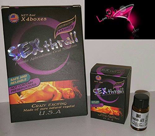 Extra Strong SEX THRALL 3CT Woman Sexual Supplement Enhancement IMPORTED FROM ALL OVER
