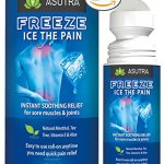 """""""FREEZE – ICE THE PAIN"""" – The Best Instant Cooling Pain Relief for Sore Muscles & Joints, Natural Ingredients, Easy To Apply, Take It With You Anywhere! GUARANTEED! Large 3oz Roll-On (2 pack)"""