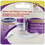 Dentek Temparin Max Lost Filling & Loose Cap Repair, One Step Instant Pain Relief , 5+ Repairs, 0.04 Oz