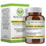 Natural Sleep Aid – True Herbal Supplement With Organic Valerian Root & Melatonin – Potent & Effective Non Habit Forming – 100{0ad59209ba3ce7f48e71d4a0dc628eee9b107ea7079661ded2b3bda89b047a8b} Vegetarian & Gluten Free Formula