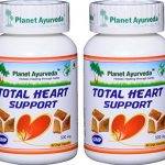 Planet Ayurveda Total Heart Support, 500mg 120 Vege Capsules – 2 Bottles