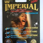 Imperial 2000mg PLUS Male Sexual Performance Enhancement Pill 6 PK