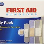 PhysiciansCare by First Aid Only Adhesive Bandages, Sheer and Clear, Assorted Sizes, 280 Count (Package may vary)