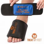 Hot/Cold Therapy Foot Arch Wrap – Instant Relief for foot pain, strains and sprains, soothing compression therapy easing swollen, painful feet – perfect for runners, athletes and plantar fasciitis