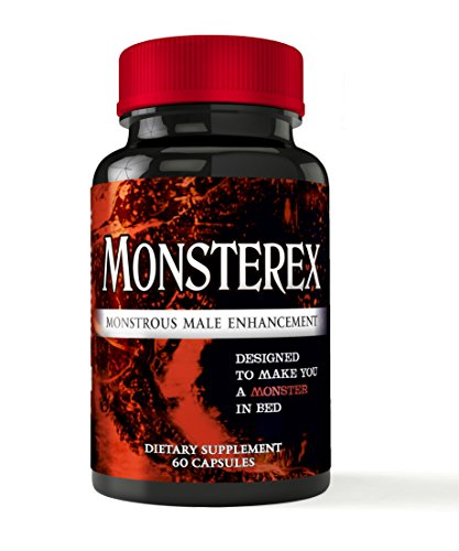 Monsterex - Monstrous Male Enhancement For Increased Size, Energy, Sex Drive - Erection Pills, Enlargement Pills, Sexual Enhancement, Boost Libido and Testosterone | All Natural Enhancement |