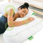 Sleep Yoga Side Sleeper Arm Rest Posture Pillow – Chiropractor-Designed Side Sleeper Pillow to Improve Posture, Flexibility, and Sleep Quality