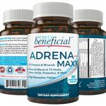 ADRENA-MAXX – Natural Adrenal Supplement, 45Day Supply- Fatigue Relief, Supports Adrenal Function, Stress Response, Enhanced Energy – Pure, Organic Ingredients -… from PURELY benefical