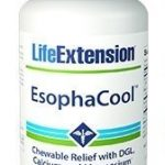 Life Extension Esophacool 120 Chewable Tablets, 0.57 Pound