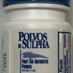 Polvos de Sulpha 7.5 gm. .69 oz. First Aid Antibiotic Powder