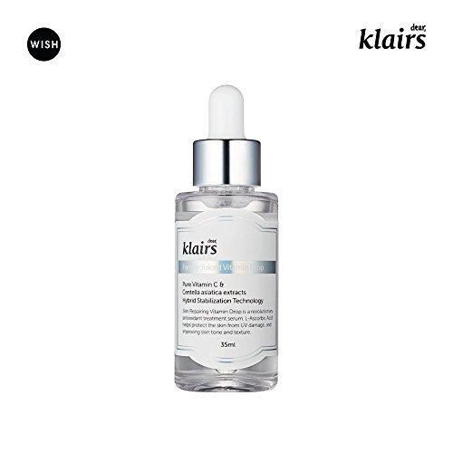 [KLAIRS] Freshly Juiced Vitamin Drop, 5{0ad59209ba3ce7f48e71d4a0dc628eee9b107ea7079661ded2b3bda89b047a8b} pure vitamin C, vitamin C serum, 35ml, 1.18oz
