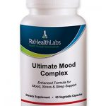Ultimate MOOD COMPLEX Anxiety Relief and Stress Support Supplement, Herbal Blend Keeps Busy Minds Relaxed, Focused & Positive; Promotes Serotonin Increase; Ashwagandha, Chamomile, B Vitamins & More