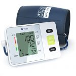 Clinical Automatic Upper Arm Blood Pressure Monitor – Accurate, FDA Approved – Adjustable Cuff, Large Screen Display, Portable Case – Irregular Heartbeat & Hypertension Detector by Generation Guard