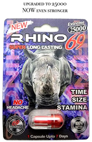 Rhino 69 Extreme 15000 - Sexual Male Performance Enhancement Pill (15K) - 6 Pack (15K)