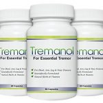 Tremanol – Pack of 3 – Natural Aid for Essential Tremor – Provides Relief for Shaky Hands, Arm, Leg, & Voice Tremors