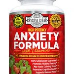 Anxiety Relief and Stress Support Supplement, Best for Relaxing Your Mind, Keeping Calm, Clearing Your Head, Unwinding, Assists Increase in Serotonin, Ashwagandha, Rhodiola Rosea, Gaba, St Johns Wort