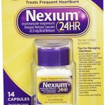 Nexium 24 Hours Treats Frequent Heartburn, 14 Capsules