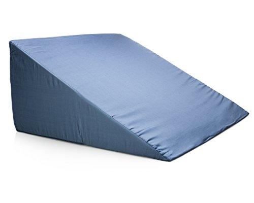 Sleep Jockey Premium Therapeutic Grade Back Bed Wedge - Acid Reflux GERD Reliever, Back Pain Relief, Snoring Reducer, Pregnancy Sleep Aid