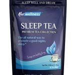 Sleep Tea – Natural Sleep Aid With Valerian Root and Chamomile – Herbal Sleep Aid Tea By Hint Wellness – 18 Tea Bags – 45 g
