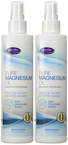 Life-Flo Health Care Pure Magnesium Oil, 2 Count