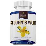 St John's Wort Extract Supplement: 500mg Vitamin Herb For Mood, Serotonin, Dopamine, and Anxiety Relief Support. Helps ease symptoms of Stress, Sadness, Seasonal Mild Depression Disorder Saint John Wort Compliments Mindfullness, Meditation, Positive Mental Health and other Natural Remedies – 100 Capsule Pills by Botanica Research