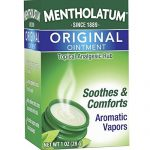Mentholatum Original Ointment Soothing Relief, Aromatic Vapors – 1 oz ( Pack of 3)