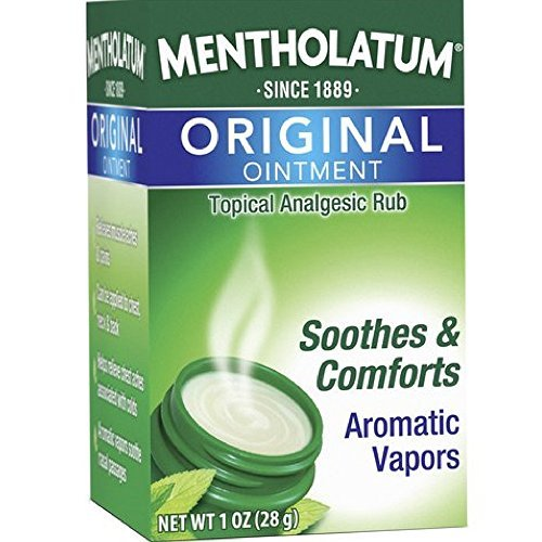 Mentholatum Original Ointment Soothing Relief, Aromatic Vapors - 1 oz ( Pack of 3)