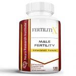 FertilitiX Male Fertility Enhancement Formula | Improve Sperm Quality, Motility, and Volume (120 Capsules)