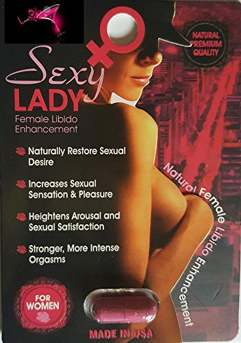 SEXY LADY 1 pill Woman Sexual Supplement Enhancement FOR A NIGHT YOU'LL NEVER FORGET AND WILL LEAVE YOUR PARTNER BEGGING FOR MORE PLUS FREE LOVE POTION EXCLUSIVE PEN