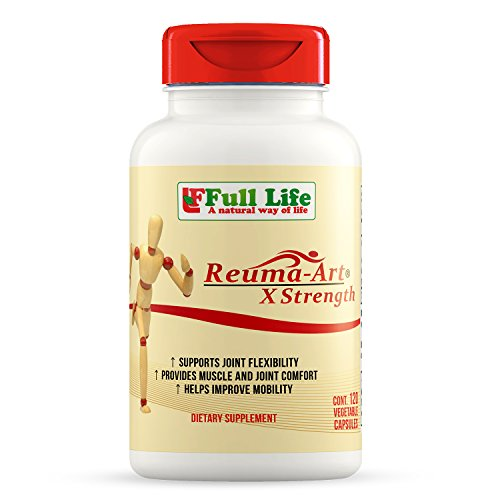 Full Life Reuma-Art X Strength Joint Mobility & Flexibility, 120 Caps