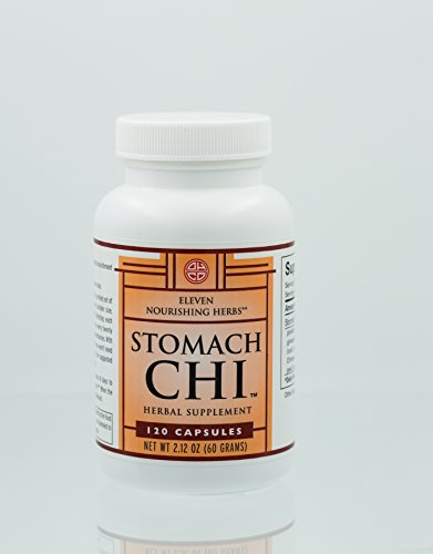 OHCO Stomach Chi 120 Capsules - Herbal Remedy for Indigestion - Heartburn Symptons, Acid Reflux, Food Sensitivities, Weight Loss Effects and More - Restore Your Digestive Functioning