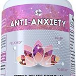 Anti Anxiety – Stress Relief Formula – Stay Relaxed, Calm, Positive – Powerful Mood Support Supplement With Ashwagandha, St. John's Wort, B Vitamins, L-Theanine, 5-HTP, Gaba, Chamomile – 60 Count