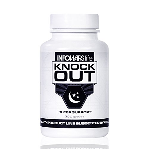 Knock Out Sleep Support (30 Capsules) – Natural Sleep Aid with Melatonin, Valerian, Chamomile & More – Non Habit Forming Sleeping Pills to Fall Asleep & Stay Asleep
