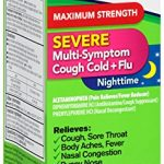 Robitussin Severe CF Maximum Strength Cough, Cold, & Flu Nighttime Medicine (8 fl. oz. Bottle)