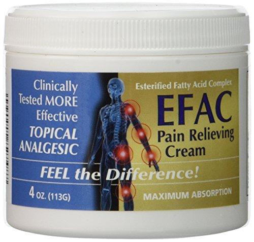 EFAC Pain Relieving Cream, 4 oz