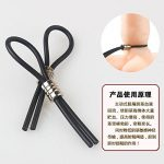 xlpace Silicone Lasso Keeper Male Prolong Enhancer Delay Impotence Cocking Ring