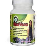 #1 Best All Natural Digestive Supplement for IBS Irritable Bowel Syndrome Stomach Bloating Gas Diarrhea Heartburn Acid Reflux Constipation Indigestion – RezVera 90 Capsules
