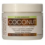 Advanced Clinicals Moisturizing Coconut Cream. Great Use As Body Lotion or Facial Moisturizer! Travel Size 2oz. …