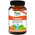 Pure Essence Labs Candex – Natural Candida Cleanse Support Supplement for Yeast Infection Treatment with No Die off Reaction – 120 Capsules