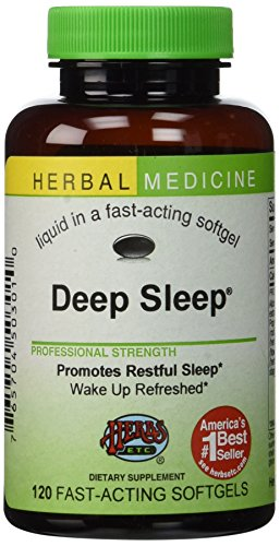 Deep Sleep® Herbal Sleep Aid: 120-Count Bottle of Softgels